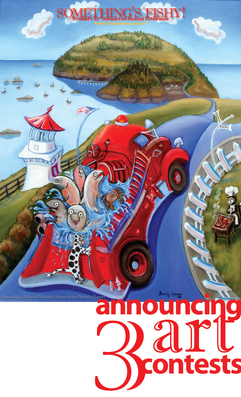 Contest Poster Beverly Harper Fish Fest Art Donation